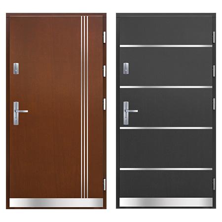 drzwi drewniane Łódź pasywne PA