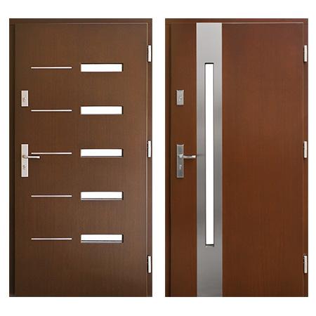 Drzwi drewniane Łódź wiatrak płytowe ZP